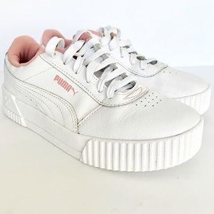 PUMAS Women's Carina Low-Top Sneakers